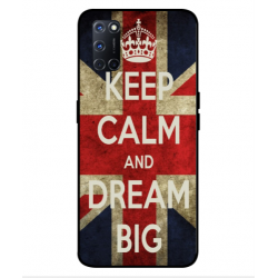 Oppo A92 Keep Calm And Dream Big Cover
