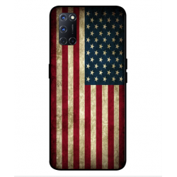 Oppo A92 Vintage America Cover