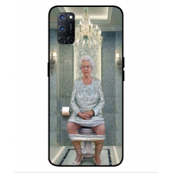 Oppo A92 Her Majesty Queen Elizabeth On The Toilet Cover