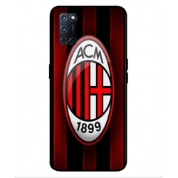 Oppo A92 AC Milan Cover