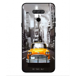 LG Q70 New York Taxi Cover