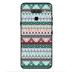 LG Q70 Mexican Embroidery Cover