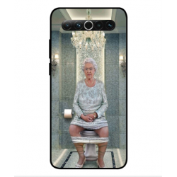 Meizu 17 Her Majesty Queen Elizabeth On The Toilet Cover