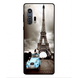 Motorola Edge Plus Vintage Eiffel Tower Case