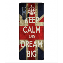 Motorola Edge Plus Keep Calm And Dream Big Cover