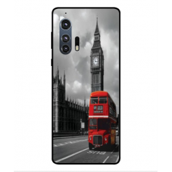 Motorola Edge Plus London Style Cover