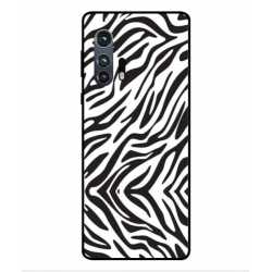 Motorola Edge Plus Zebra Case