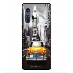 Motorola Edge Plus New York Taxi Cover