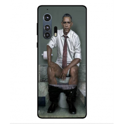 Motorola Edge Plus Obama On The Toilet Cover