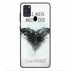 Samsung Galaxy A21s All Men Must Die Cover