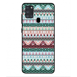 Samsung Galaxy A21s Mexican Embroidery Cover