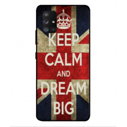 Samsung Galaxy A Quantum Keep Calm And Dream Big Cover