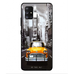 Samsung Galaxy A Quantum New York Taxi Cover