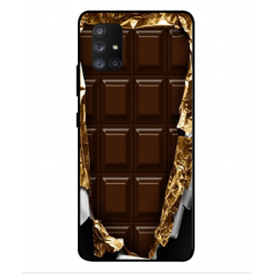 Samsung Galaxy A Quantum I Love Chocolate Cover