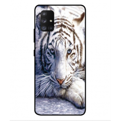 Samsung Galaxy A Quantum White Tiger Cover
