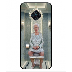 Vivo X50 Lite Her Majesty Queen Elizabeth On The Toilet Cover
