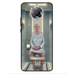 Xiaomi Poco F2 Pro Her Majesty Queen Elizabeth On The Toilet Cover