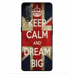 Oppo Find X2 Keep Calm And Dream Big Cover