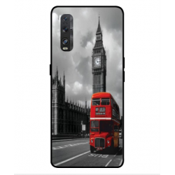 Oppo Find X2 London Style Cover
