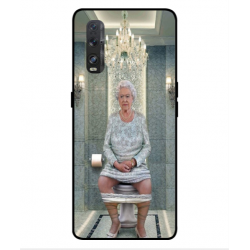 Oppo Find X2 Her Majesty Queen Elizabeth On The Toilet Cover