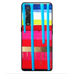 Oppo Find X2 Pro Brushstrokes Cover