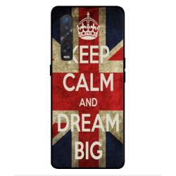 Oppo Find X2 Pro Keep Calm And Dream Big Cover
