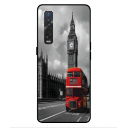 Oppo Find X2 Pro London Style Cover