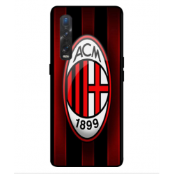Oppo Find X2 Pro AC Milan Cover