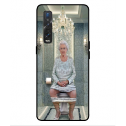 Oppo Find X2 Pro Her Majesty Queen Elizabeth On The Toilet Cover