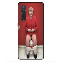 Oppo Find X2 Pro Angela Merkel On The Toilet Cover