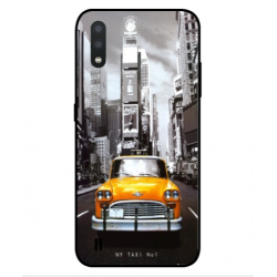 Samsung Galaxy M01 New York Taxi Cover