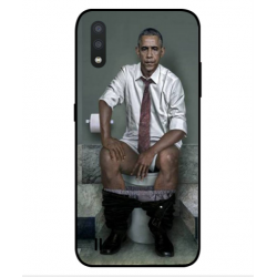 Samsung Galaxy M01 Obama On The Toilet Cover