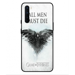 OnePlus Nord All Men Must Die Cover