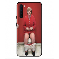 OnePlus Nord Angela Merkel On The Toilet Cover