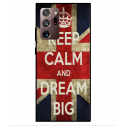 Samsung Galaxy Note 20 Keep Calm And Dream Big Cover