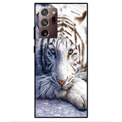 Samsung Galaxy Note 20 White Tiger Cover
