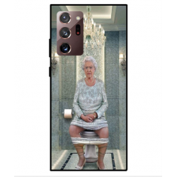 Samsung Galaxy Note 20 Ultra Her Majesty Queen Elizabeth On The Toilet Cover