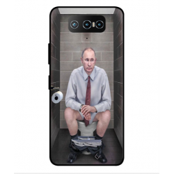 Asus Zenfone 7 Pro ZS671KS Vladimir Putin On The Toilet Cover