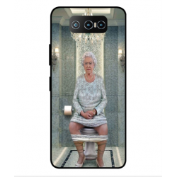 Asus Zenfone 7 Pro ZS671KS Her Majesty Queen Elizabeth On The Toilet Cover