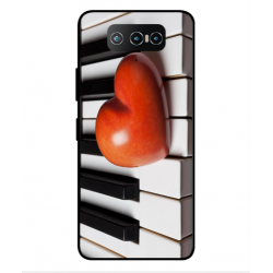 Asus Zenfone 7 ZS670KS I Love Piano Cover
