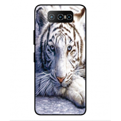 Asus Zenfone 7 ZS670KS White Tiger Cover