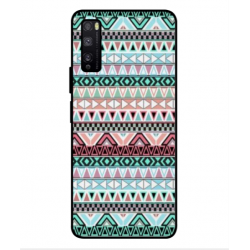 Coque Broderie Mexicaine Pour Huawei Enjoy Z 5G