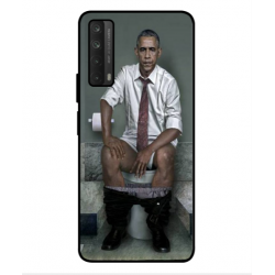 Huawei P smart 2021 Obama On The Toilet Cover