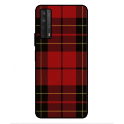 Huawei P smart 2021 Swedish Embroidery Cover