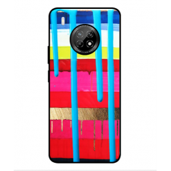 Huawei Y9a Brushstrokes Cover