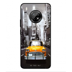 Coque New York Taxi Pour Huawei Y9a