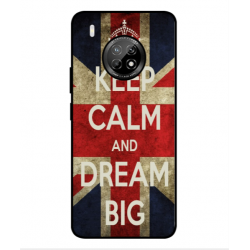 Huawei Y9a Keep Calm And Dream Big Cover