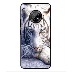Coque Protection Tigre Blanc Pour Huawei Y9a