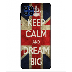 Motorola One 5G Keep Calm And Dream Big Cover