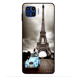 Motorola One 5G Vintage Eiffel Tower Case